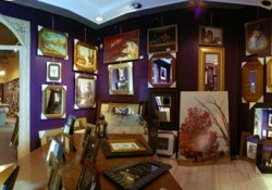gallery panoramic view showroom